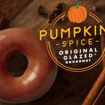 Krispy Kreme's pumpkin spice glazed doughnuts are returning — there's just one little catch
