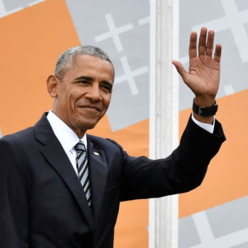 """Stop what you're doing and watch this video of Barack Obama singing """"Look What You Made Me Do"""""""