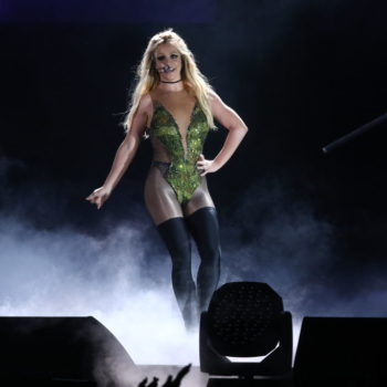 This fan had a little too much to drink at a Britney Spears show, so naturally, she called him out on it