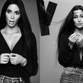 This is what Cher thinks of Kim Kardashian's magazine cover tribute to her