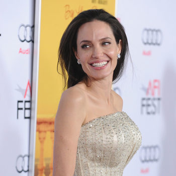 Angelina Jolie just opened up about life post-divorce
