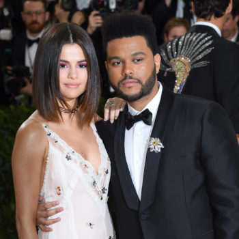 Selena Gomez and The Weeknd played with tiny puppies in NYC this weekend, and here's photo evidence