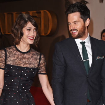 Lizzy Caplan and her fiancé just got married, and the pic is magical