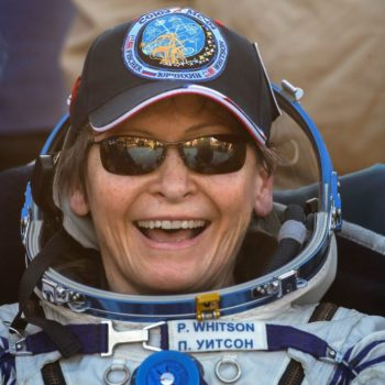 American Space Ninja Peggy Whitson is back on earth after her record-breaking time in space