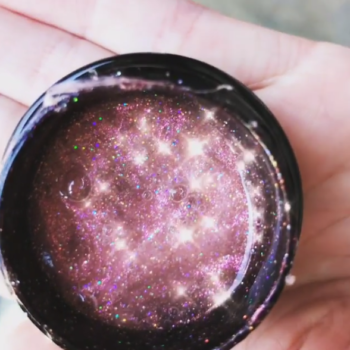 Too Faced is launching a baby pink glitter mask, and get ready to sparkle like a diamond