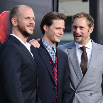The three Skarsgård brothers made a joint appearance, and they are basically the ~moody~ Hemsworths