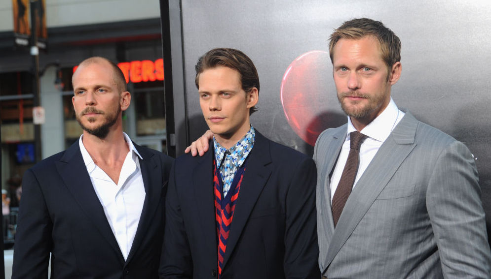 The three Skarsgård brothers made a joint appearance, and ...