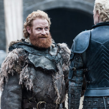 """Brienne is just as weirded out by Tormund IRL as she is on """"Game of Thrones"""""""