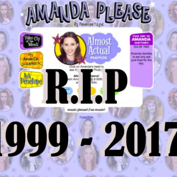 In memoriam: amandaplease.com