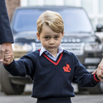 These throwback photos of Prince William's first day of school prove that Prince George is his ultimate mini-me