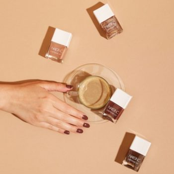 Nails Inc. launched a caffeine-infused polish line that you're going to love a *latte*
