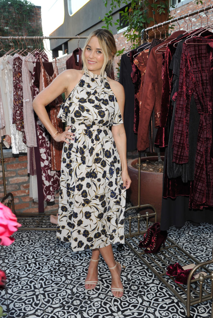 You Can Buy Lauren Conrads Floral Ruffle Dress For Only 55