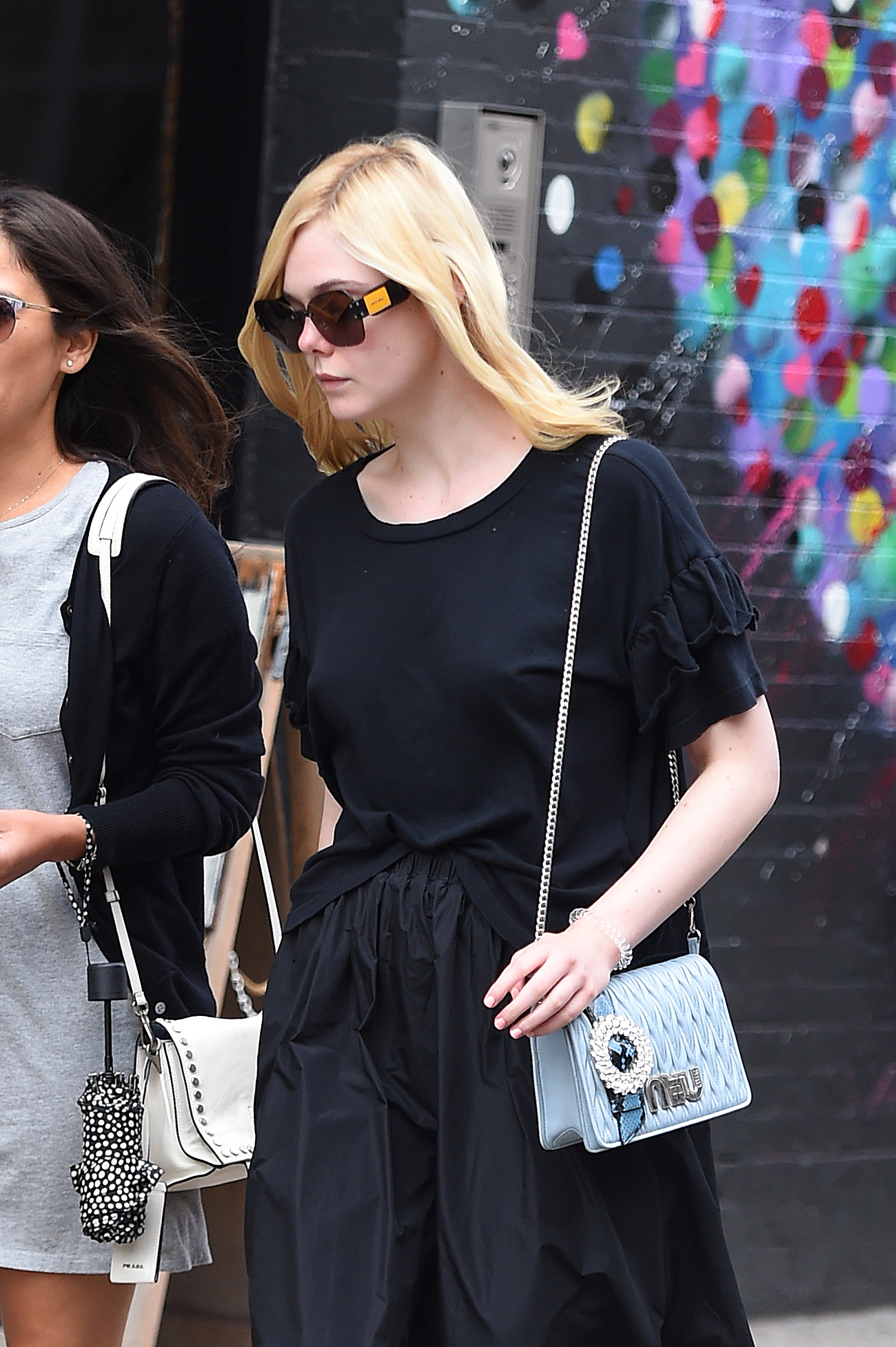NEW YORK - SEPTEMBER 07: Elle Fanning is seen out in Manhattan on September 07, 2017 in New York, New York.