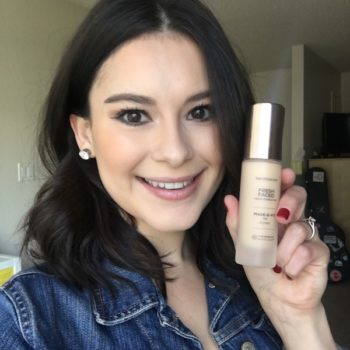 I took bareMinerals' new custom shade foundation for an all-day test-run in 85-degree weather