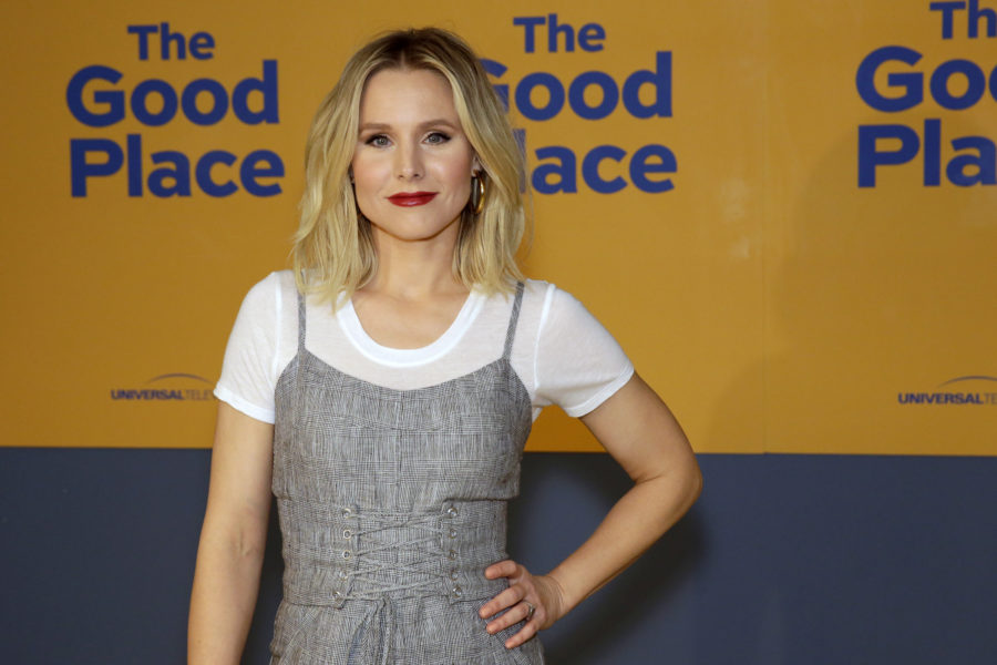 THE GOOD PLACE --  FYC at UCB  -- Pictured: Kristen Bell -- (Photo by: Daniel Cristol/NBC/NBCU Photo Bank via Getty Images)