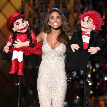 The internet is losing it over Miss Louisiana's yodeling ventriloquism act