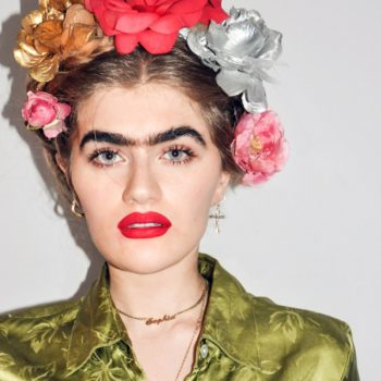 This model's love for her unibrow will make you want to throw away your tweezers forever