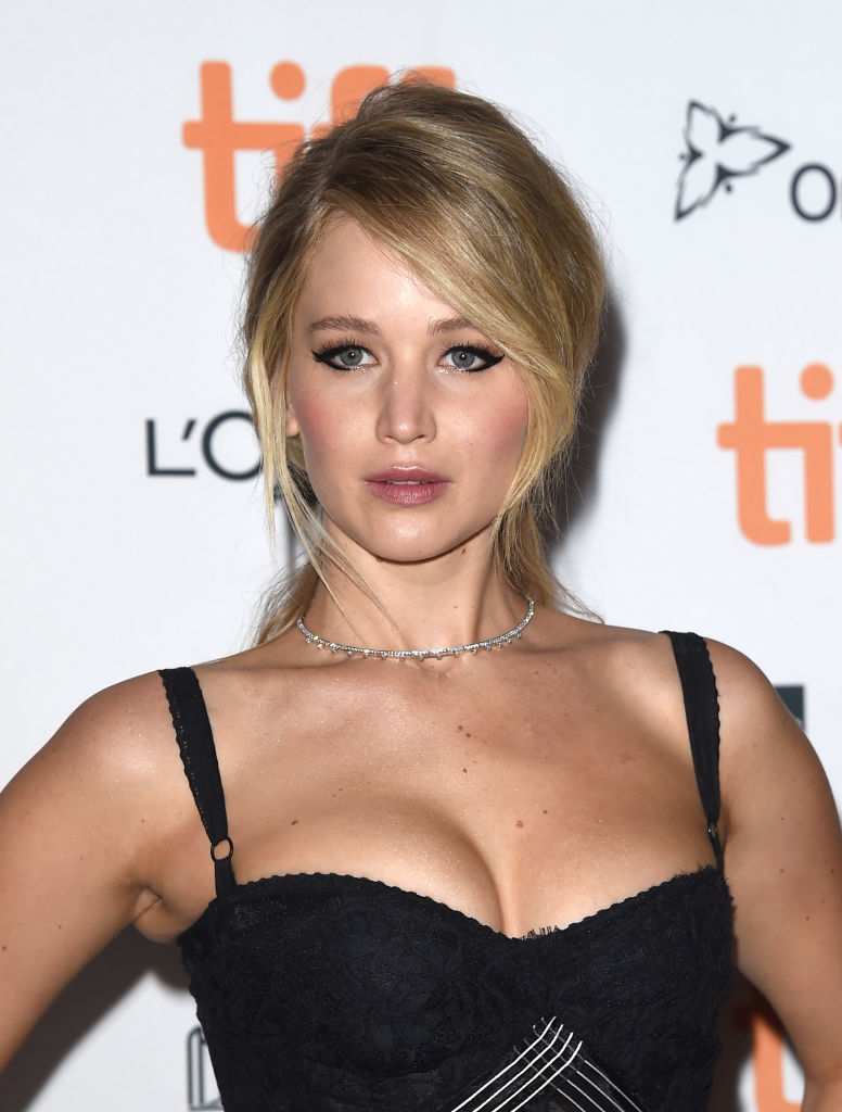 Actress Jennifer Lawrence attends the 'mother!' premiere during the 2017 Toronto International Film Festival at TIFF Bell Lightbox on September 10, 2017 in Toronto, Canada. (Photo by J. Merritt/WireImage)