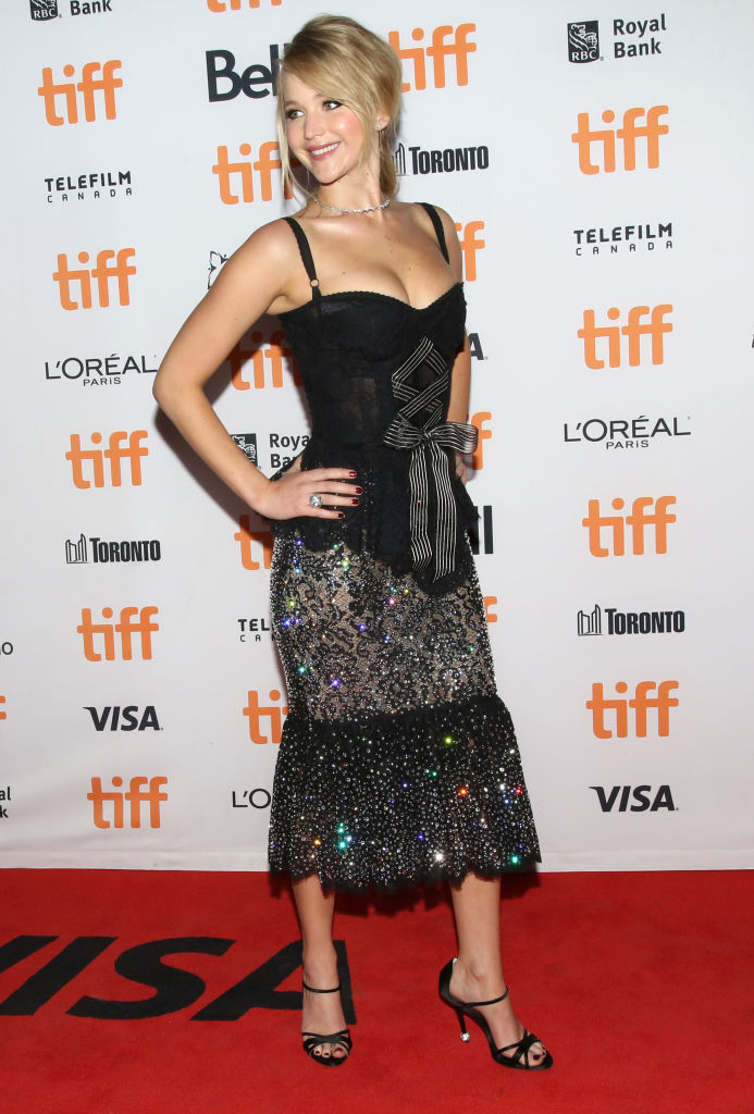 TORONTO, ON - SEPTEMBER 10: Jennifer Lawrence attends the 'Mother!' premiere during the 2017 Toronto International Film Festival at Princess of Wales Theatre on September 10, 2017 in Toronto, Canada. (Photo by Walter McBride/FilmMagic)