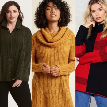 15 cute 'n' cozy sweaters to take you from the office to date night