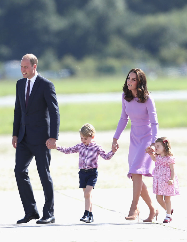 Prince William, Kate Middleton, Charlotte, George