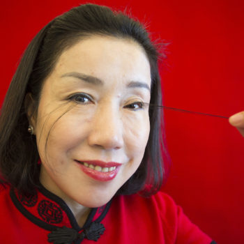 This woman has the longest eyelashes in the world, and her supposed secret for growing them is even weirder