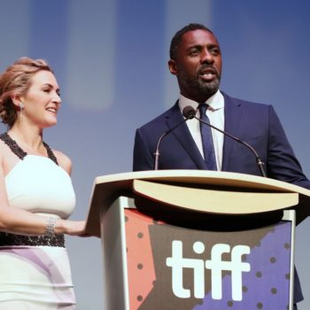 """Kate Winslet opened up about her """"awkward"""" sex scene with Idris Elba"""
