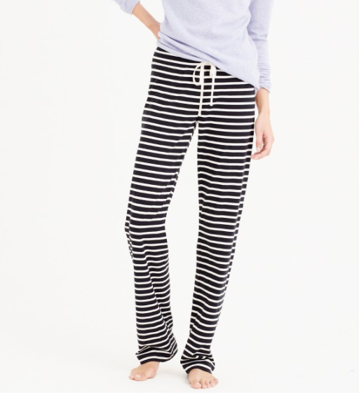 Sleep Pants with Stripes