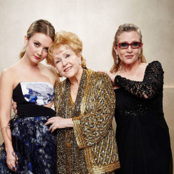 """Billie Lourd opened up about losing """"goddesses"""" Carrie Fisher and Debbie Reynolds"""