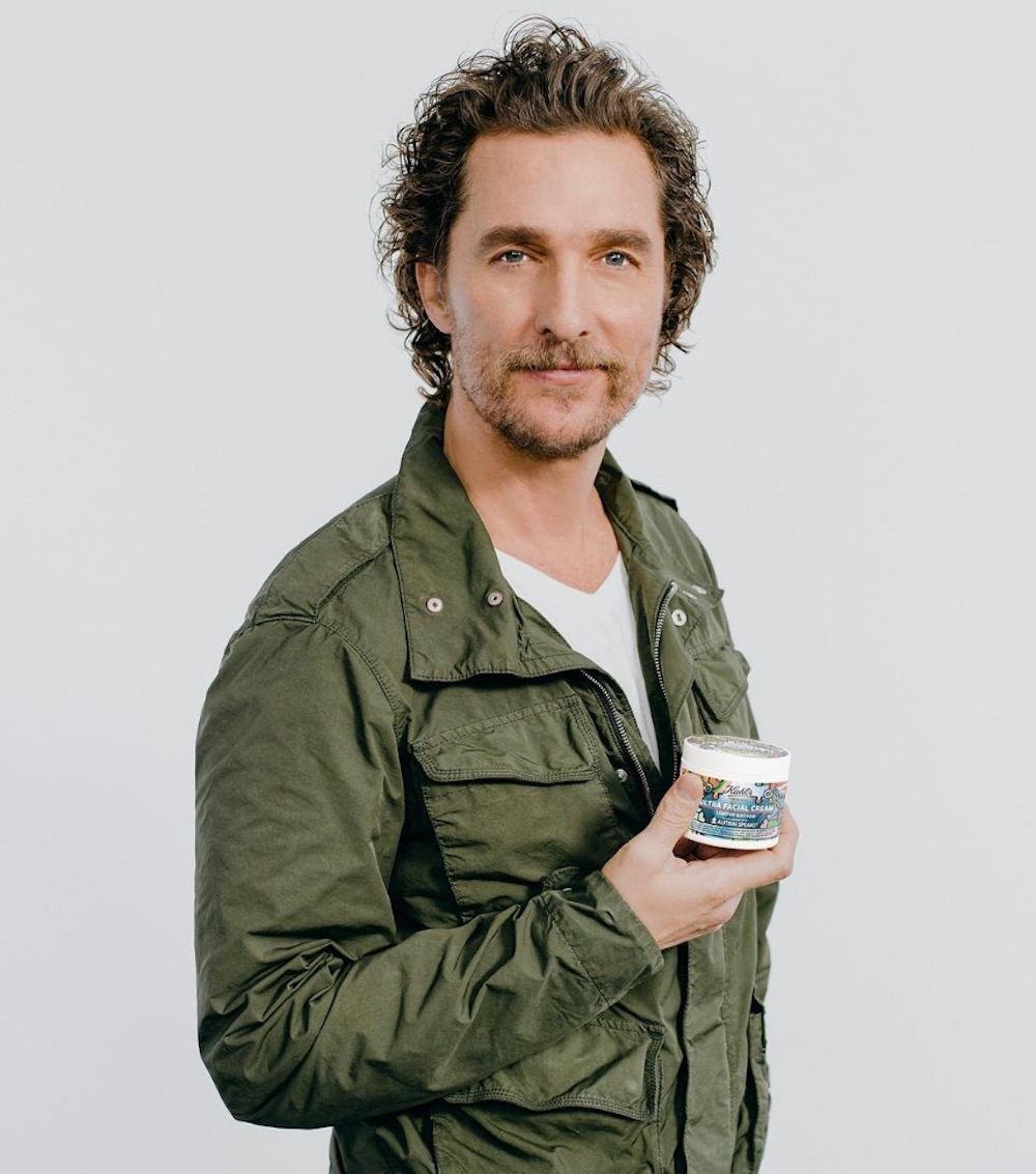 Matthew McConaughey and Kiehl's are teaming up to spread ...