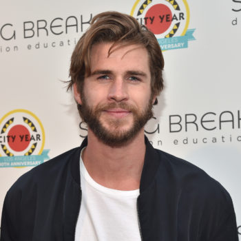 Liam Hemsworth is especially proud of his new kissing selfie with Miley Cyrus