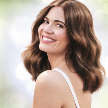 Mandy Moore has a new beauty gig with Garnier and celebrated with a hair color #TBT