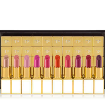Tom Ford is dropping 100 lipsticks this week, so now's a good time to start packing your lunch