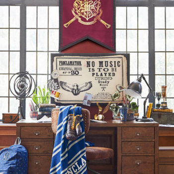 The most enchanting Harry Potter collection is here, and yes, there's an invisibility cloak comforter