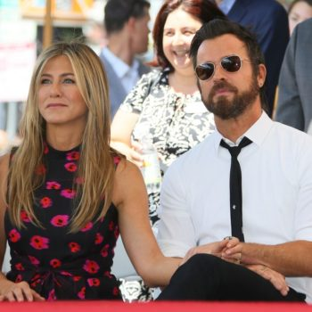 Jennifer Aniston shared her initial reaction to Justin Theroux's proposal, and LOL