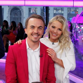 """Frankie Muniz revealed his biggest """"DWTS"""" fear, and we're officially worried for him"""