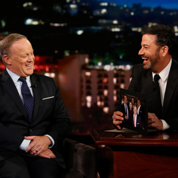 "Sean Spicer appeared on ""Jimmy Kimmel Live"" and wants you to know he hasn't seen Trump naked"