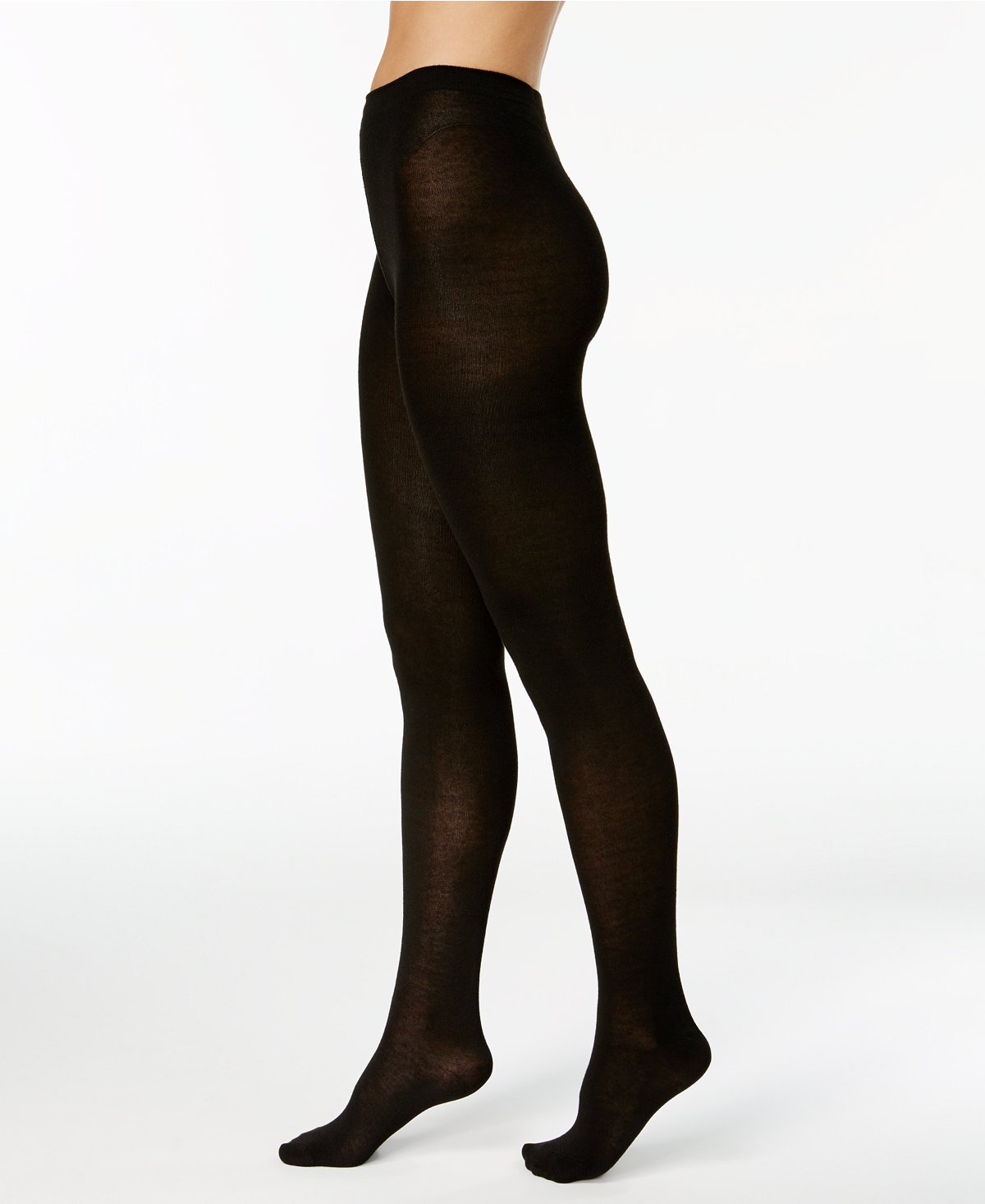 shaved legs flat knit nylons