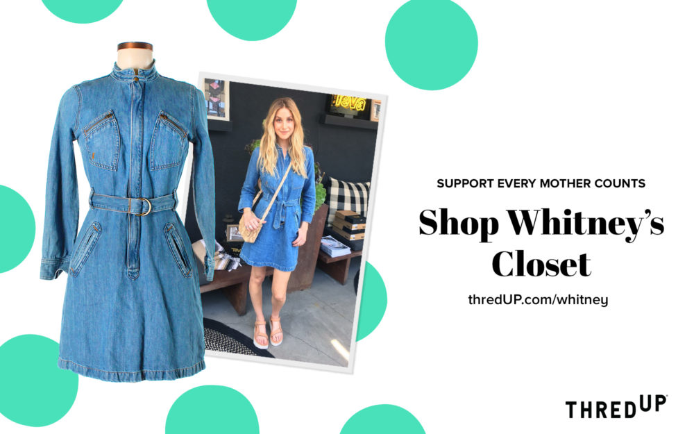 15251b28f912 Whitney Port is selling her actual maternity clothes at online ...
