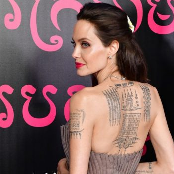 Angelina Jolie once attended a premiere in a urine-stained dress, and moms everywhere can relate