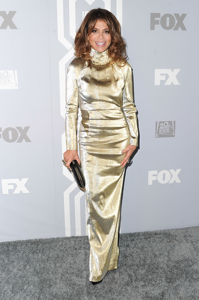LOS ANGELES, CA - SEPTEMBER 22:  TV personality Paula Abdul  attends the Fox Broadcasting, Twentieth Century Fox Television and FX 2013 Emmy nominees celebration at Soleto on September 22, 2013 in Los Angeles, California.  (