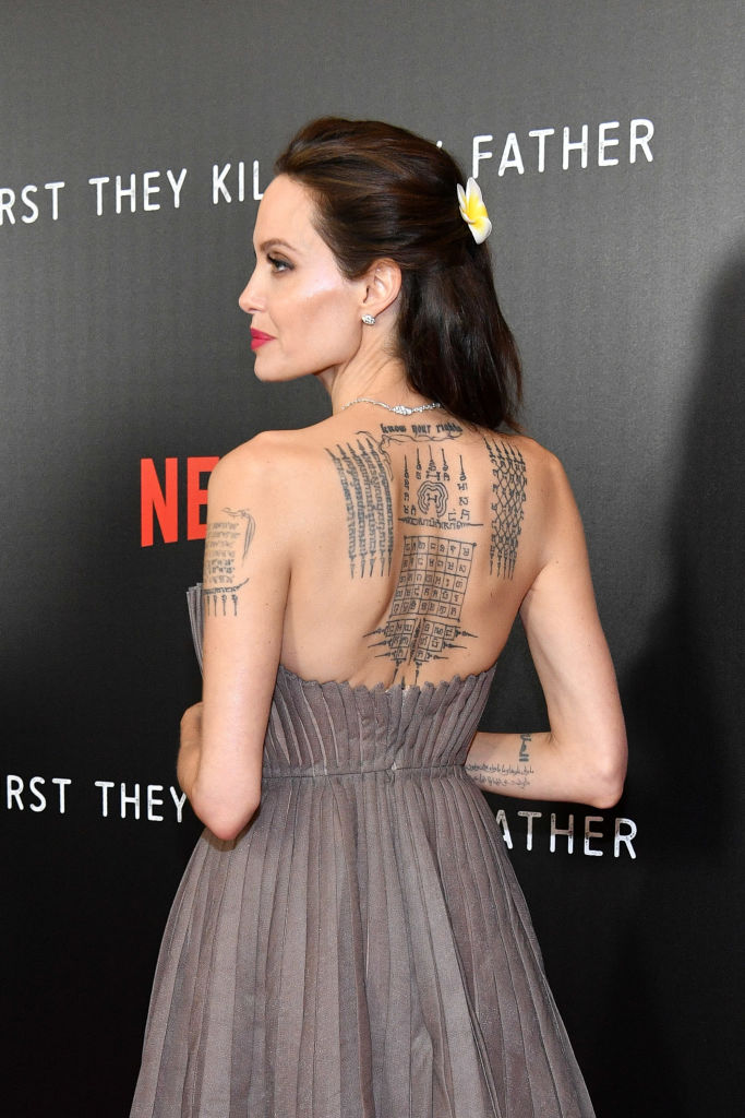 Angelina Jolie S Gray Princess Gown Might Be Her Best Look