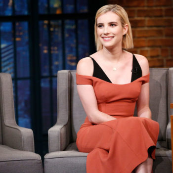 Emma Roberts wore a '90s-inspired baby tee, and you can get it for just $32