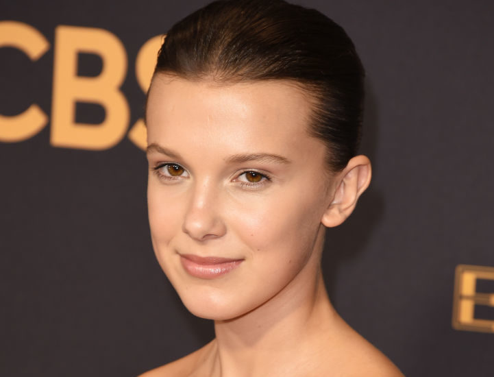 Millie Bobby Brown dazzled in an elegant ballerina gown at the 2017 Emmys