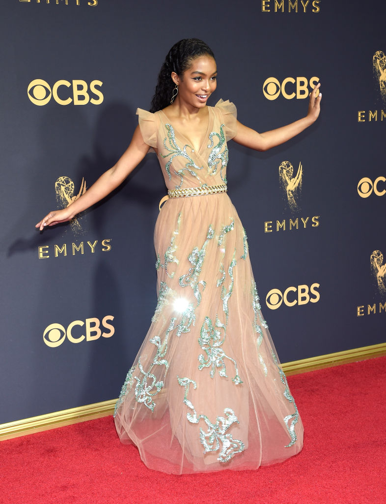 Yara Shahidi Is Prom Dress Goals In This Glittery Prada