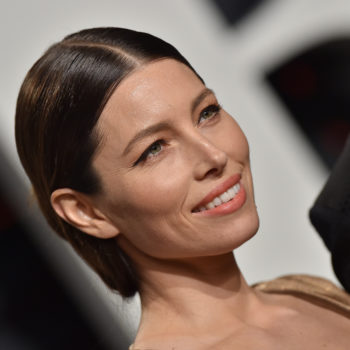 Jessica Biel's 2017 Emmys look makes us want to run out and buy hair extensions ASAP