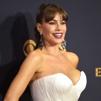 Sofia Vergara brought her grown son to the Emmys, and the internet is crushing hard