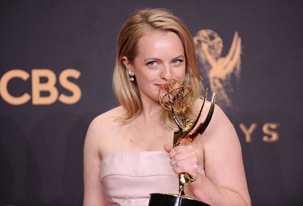 "Elisabeth Moss admitted she ""blacked out"" after hearing she won the Emmy for ""The Handmaid's Tale"""
