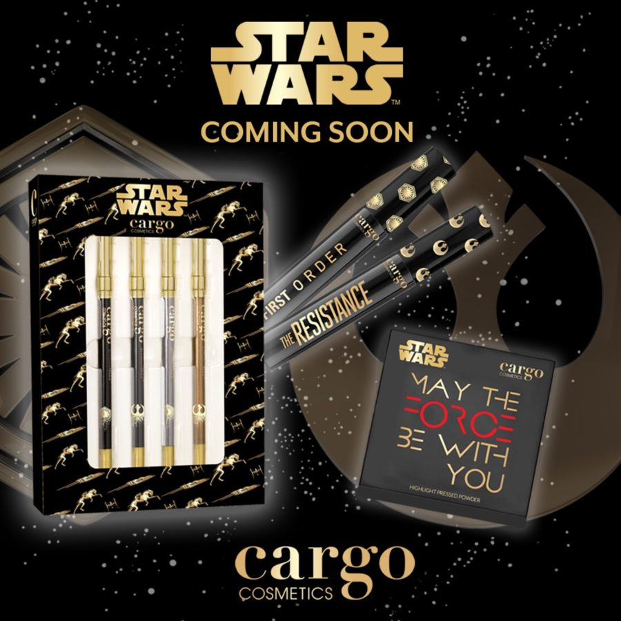 Cargo Cosmetics Is Releasing A Star Wars Makeup Collection And