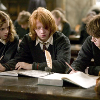 """Wish we had a time-turner that could go back like 15 years, because this """"Harry Potter"""" classroom is absolutely magic"""